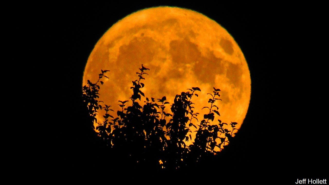 October's Full Moon, the Hunter's Moon,