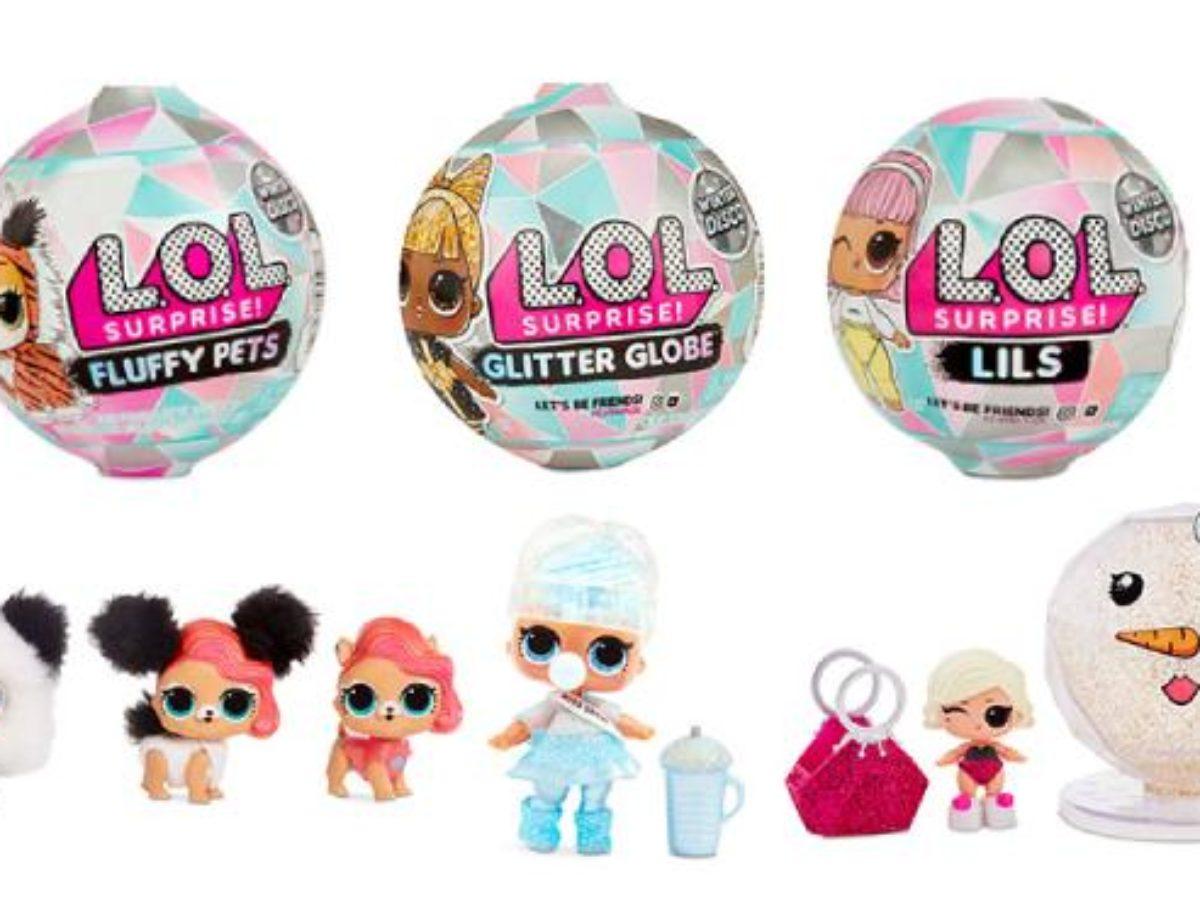 Lil Sister LIL GLAMOUR QUEEN Glitter Globe WINTER DISCO Ultra Rare LOL Surprise