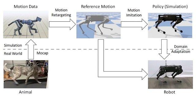 Google AI robotic dog