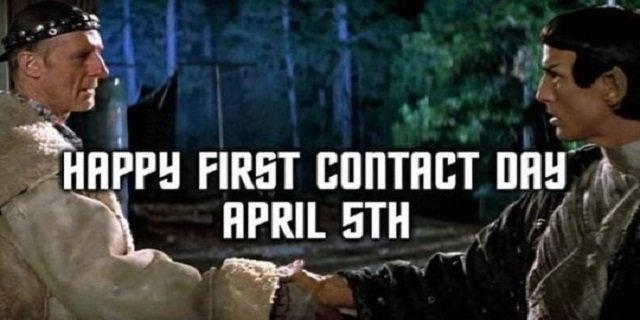 Star Trek First Contact Day