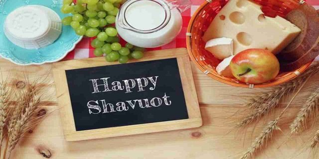 Happy Shavuot feast of weeks