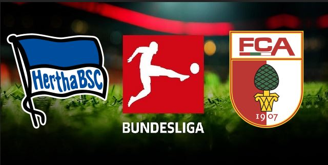 Hertha Berlin vs FC Augsburg German Bundesliga 2019 20