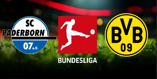 Paderborn vs Dortmund German Bundesliga 2019 20