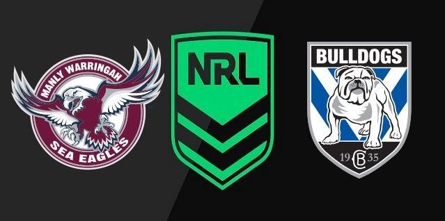 Sea Eagles vs Bulldogs 2020 NRL