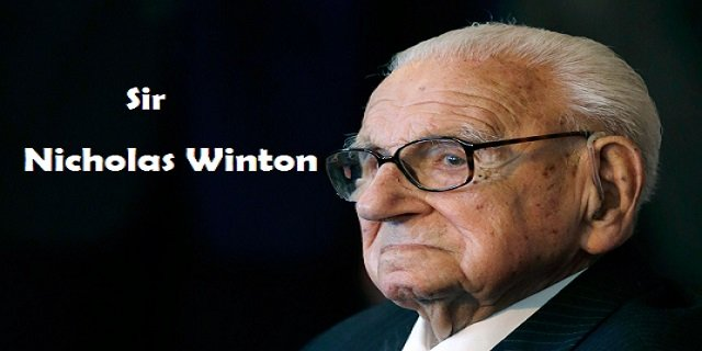 Sir Nicholas Winton