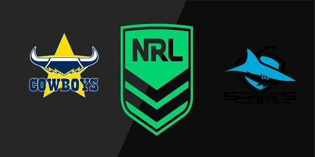 Cowboys vs Sharks 2020 NRL 2
