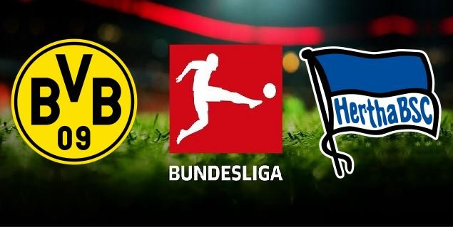 Dortmund vs Hertha Berlin 2019 20 German Bundesliga
