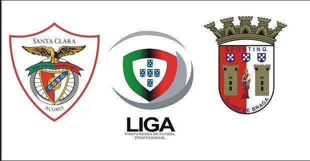 Santa Clara vs Braga 2019 20 Portuguese Primeira Liga