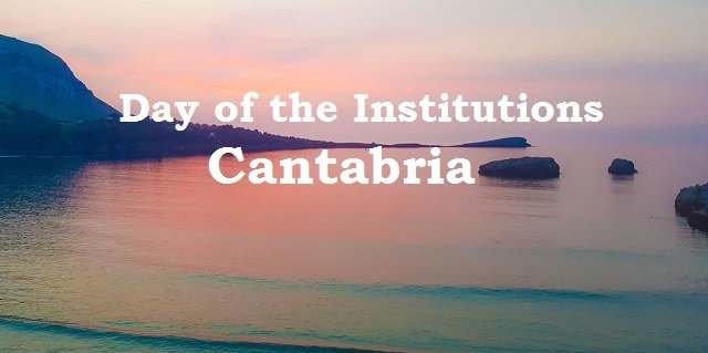 Day of the Institutions of Cantabria in Spain