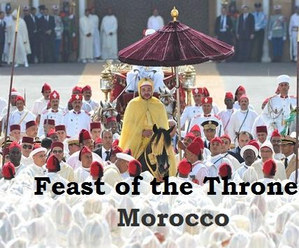 Feast Day of the Throne in Morocco