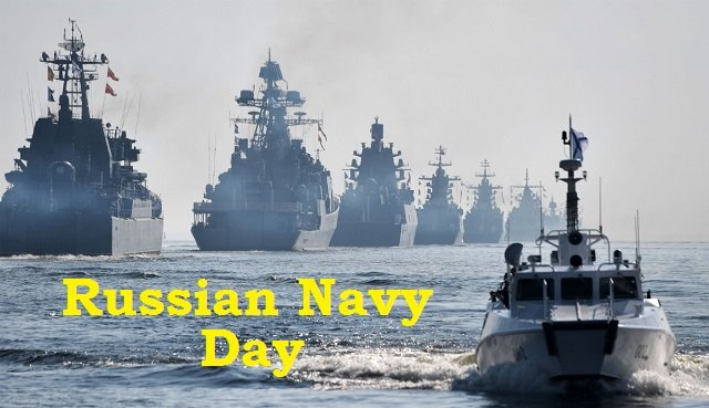 Navy Day 2020 Celebration in Russia