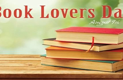Book Lovers Day August 9th