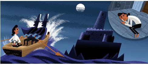 Google Doodle Slideshow Celebrating Alexandre Dumas 2
