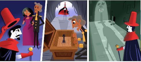 Google Doodle Slideshow Celebrating Alexandre Dumas 5