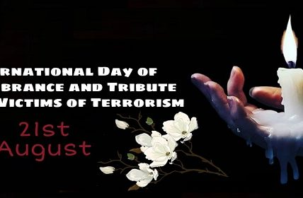 International Day of Remembrance of and Tribute to the Victims of Terrorism