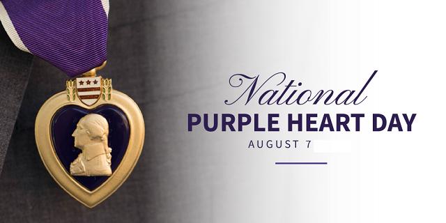 National Purple Heart Appreciation Day