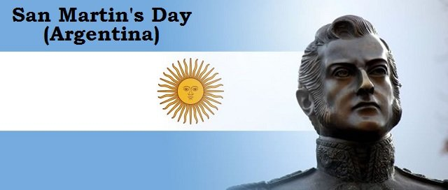 San Martins Day In Argentina