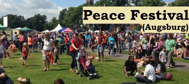 peace festival in augsburg germany