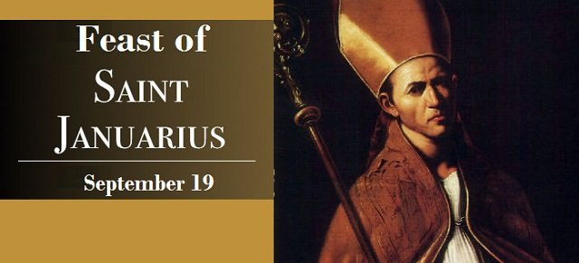 Feast of Saint Januarius
