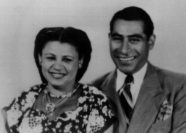 Felicitas Mendez and Gonzalo Mendez