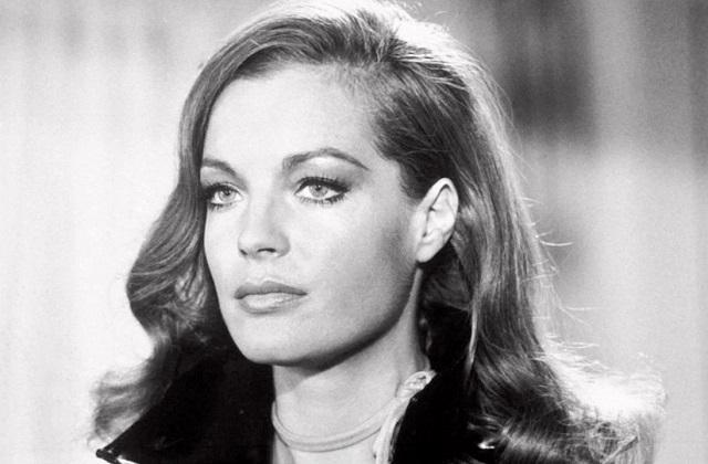 German French actress Romy Schneider