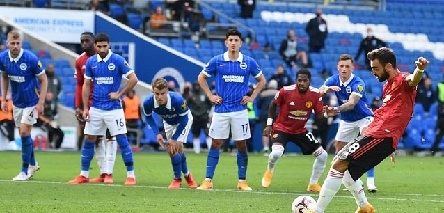 Man United vs Brighton results Manchester United beat Brighton 3 2 win in Premier League