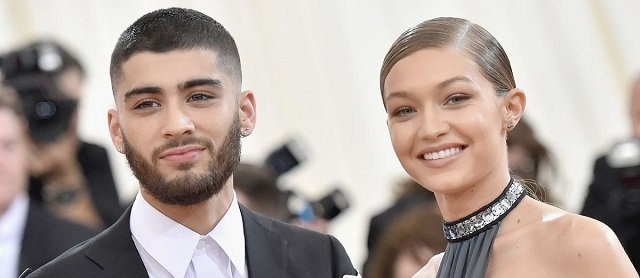 Singer Zayn Malik and Supermodel Gigi Hadid