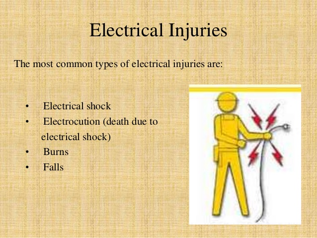 Types of electrical hazard 1
