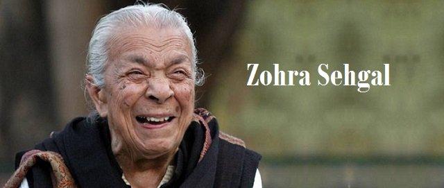 Zohra Sehgal Segal