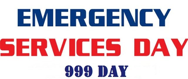 emergency services 999 day in UK