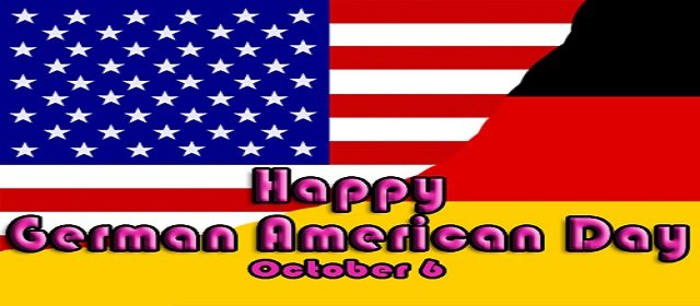 German American Day Deutsch Amerikanischer Tag