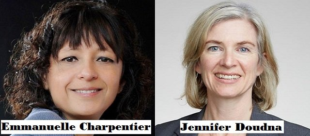 Nobel Prize in Chemistry 2020 Emmanuelle Charpentier and Jennifer Doudna won an award for the development of a method for genome editing technology