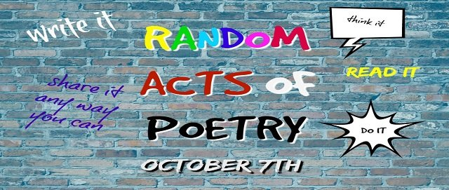 Random Acts of Poetry Day