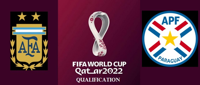 Argentina vs Paraguay 2022 FIFA World Cup Qualifiers