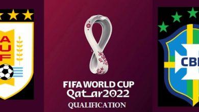Uruguay vs Brazil 2022 FIFA World Cup Qualifiers