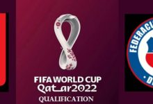 Venezuela vs Chile 2022 FIFA World Cup Qualifiers