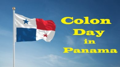 Why is Colon Day celebrated in Panama