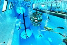 Deepest swimming pool in the world Deepspot opens in Poland