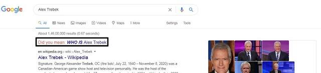Google honors Jeopardys Alex Trebek with a unique way 1