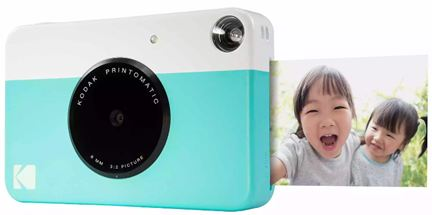 KODAK Printomatic instant print camera