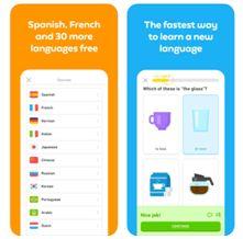 Self improvement app Duolingo Plus