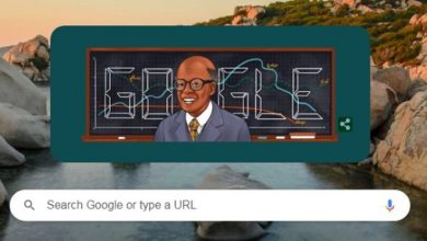 Sir W. Arthur Lewis Google Doodle celebrates Saint Lucian British economist who won the Nobel Memorial Prize in Economic Sciences