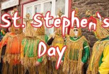 St. Stephens Day La Fheile Stiofain or the Day of the Wren La an Dreoilin or the Feast of Saint Stephen 1