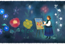 kateryna bilokurs 120th birthday Катерина Білокур