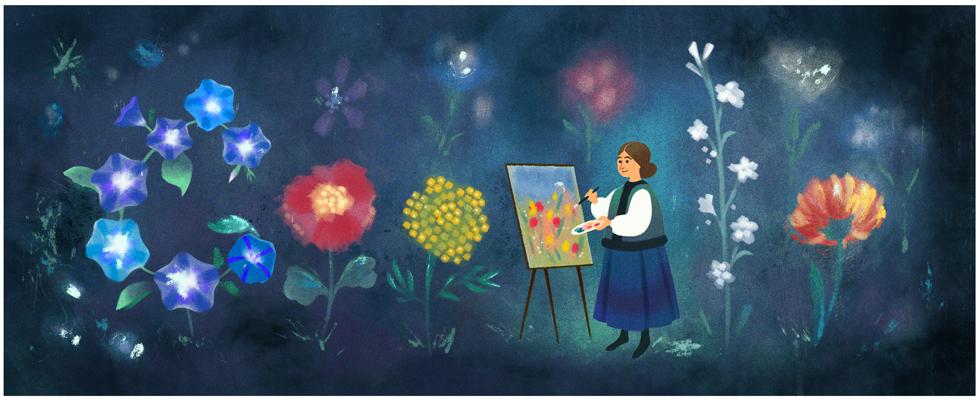 kateryna bilokurs 120th birthday Катерина Білокур