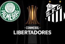 Palmeiras and Santos 2020 Copa Libertadores Final