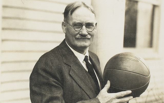 inventor of basketball Dr. James Naismith