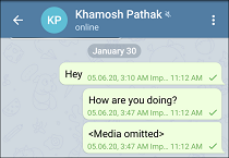 10 WhatsApp Chat Imported in Telegram for Android