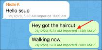 9 WhatsApp Chat Imported to Telegram