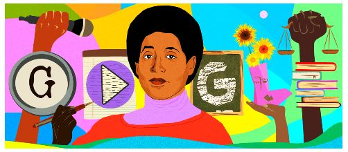 Google Doodle celebrates American civil rights activist and feminist Audre Lordes 87th birthday 3
